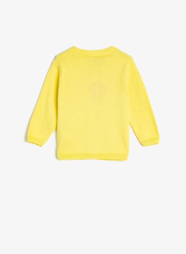 Koton Kids Hırka Sarı